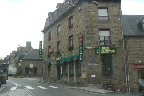 Ducey street Manche Normandy