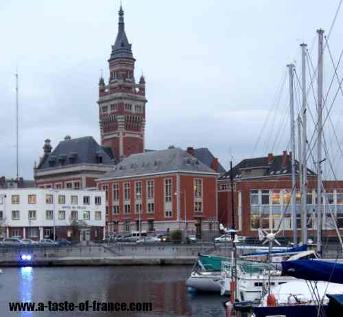 Dunkerque port picture