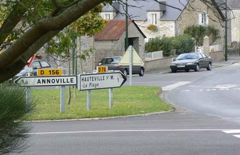 Hauteville sur mer Manche Normandy