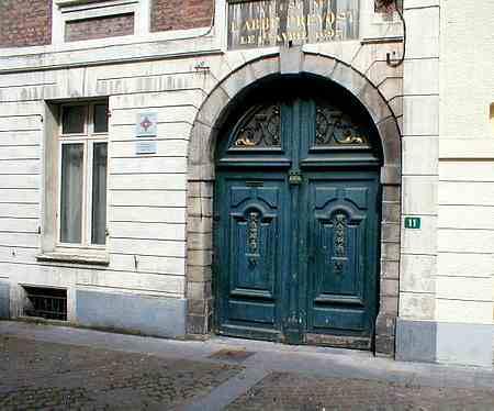 Hesdin France old door