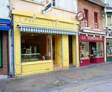 Hesdin France shops