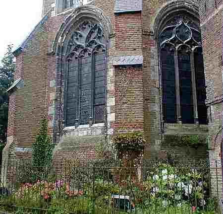 Hesdin church Notre Dame France