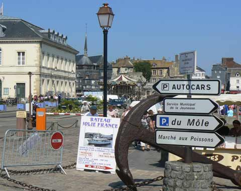 Honfleur port Normandy