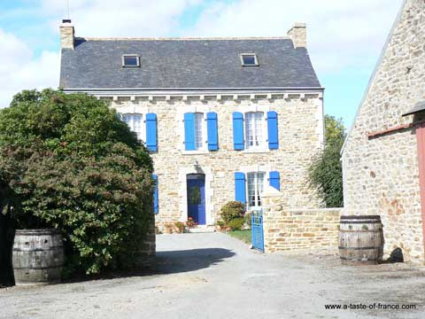 Kerascoet manor house Brittany