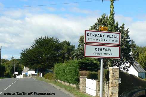 Kerfany Plage Brittany