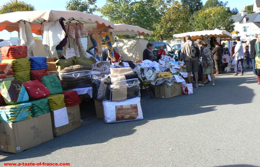 market at La Foret Fouesnant