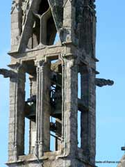 La Foret Fouesnant bell tower Brittany