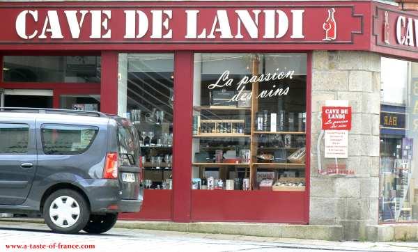 a shop in Landivisiau