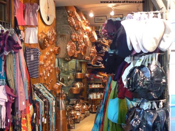 Shop in Le Mont Saint Michel la Manche  Normandy