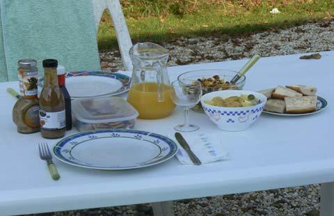 Le Tanu food Manche  Normandy