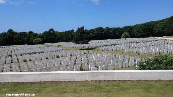 Etaples WW1 Military Cemetery France  picture