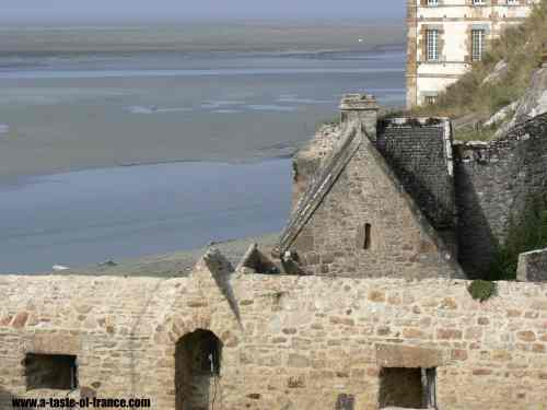 Mont-St-Michel village picture