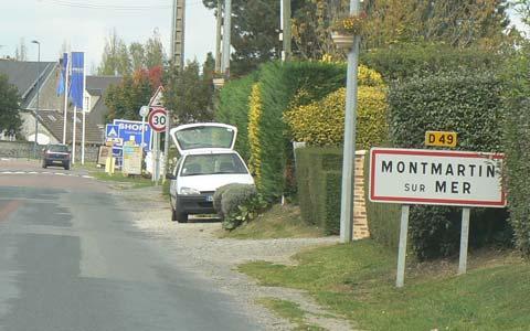 Montmartin sur Mer manche Normandy