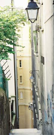 Paris stairwell