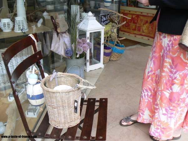 Plouescat gift shop  Brittany