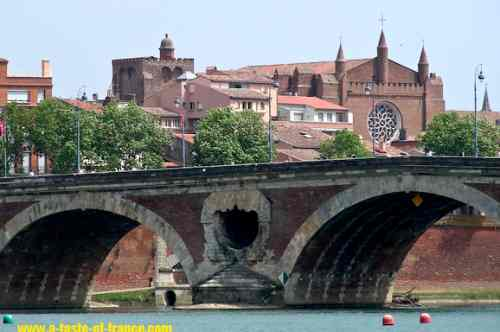 Pont-Neuf Bridge Toulouse picture