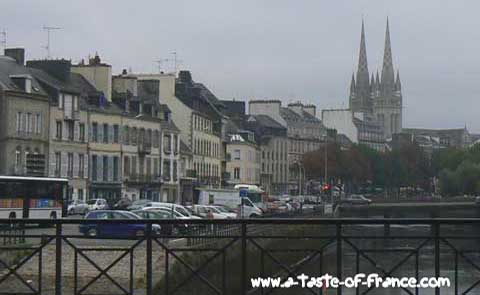Quimper cathedral  Brittany