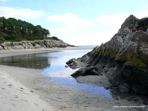 Rospico beach France