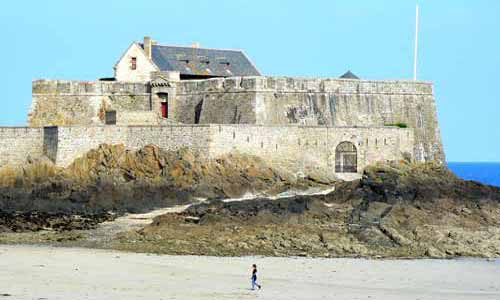 Saint Malo Fort Brittany