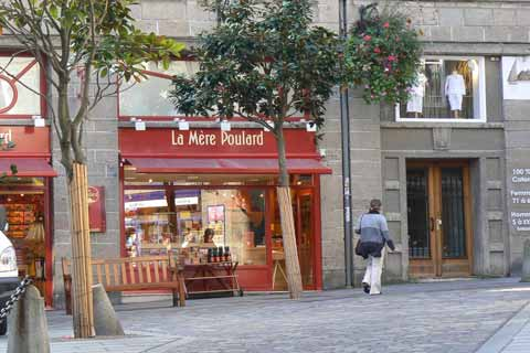 old street vitre Brittany