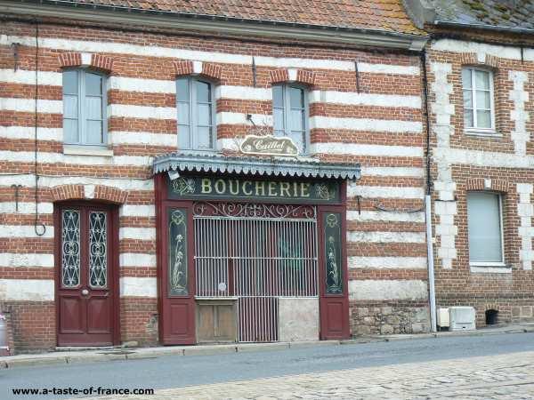 Saint Riquier Northern France