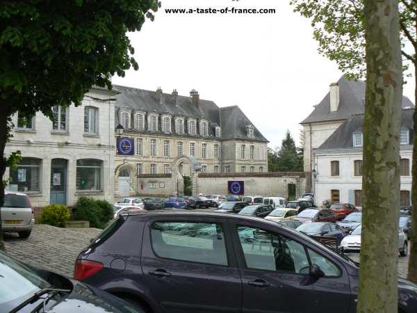 Saint Riquier Abbey Northern France