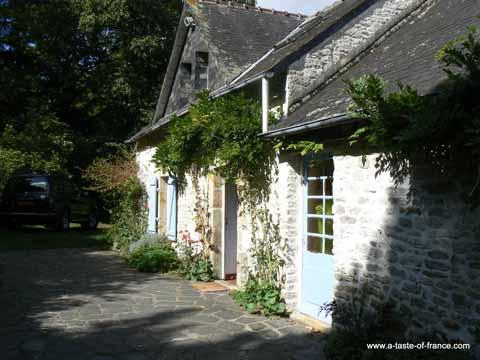 Saint Yvi gite Brittany