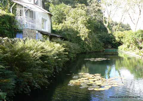 Saint Yvi mill house Brittany