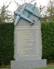 Sainte-Cecile war memorial