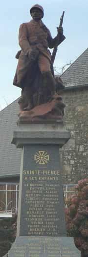 Sainte-Pience Normandy France