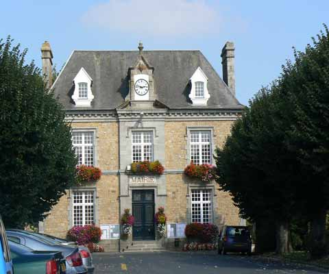 Sartilly Mairie cffice Manche Normandy