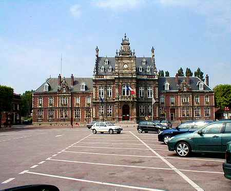 St Omer France town hall
