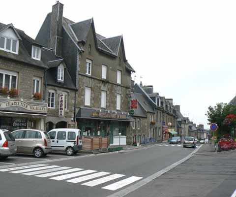 St Sever Calvados main road manche Normandy