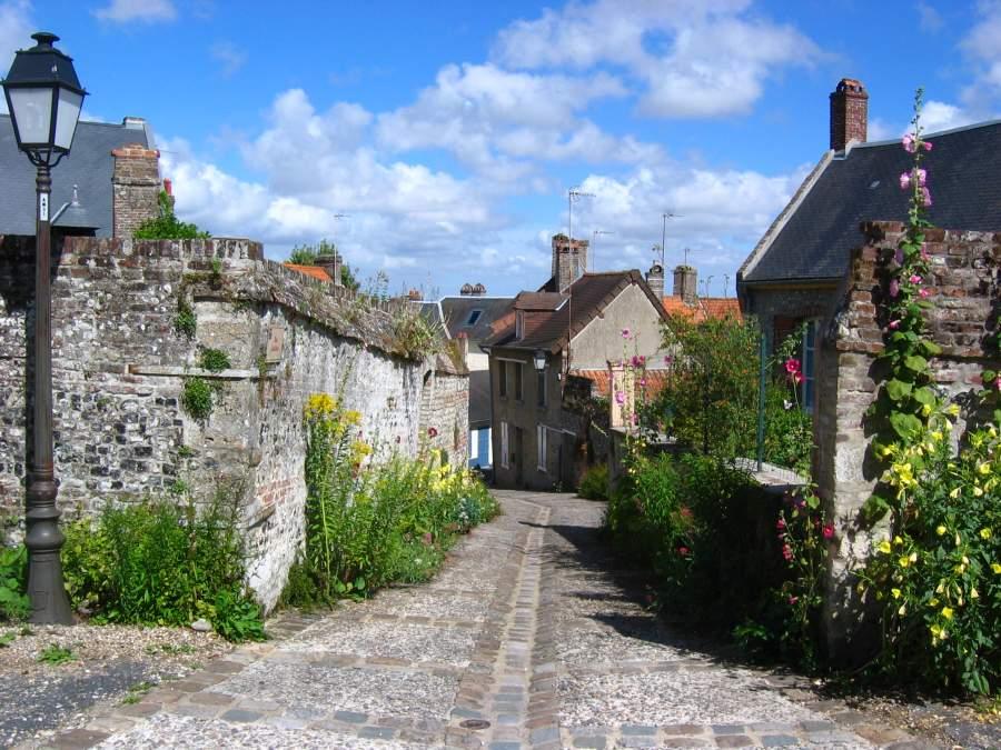 St Valery sur Somme Northern France