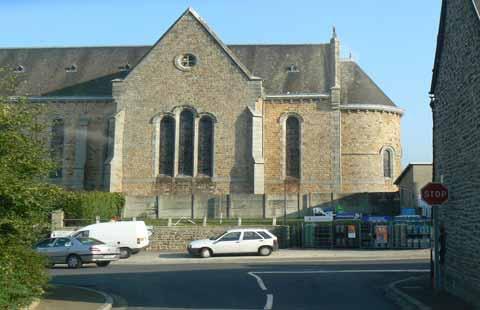 St Jean des Champs church Manche Normandy