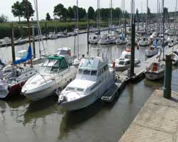 st valery sur somme harbour marina picture