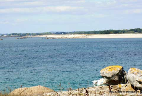 Trevignon fishing boats Brittany