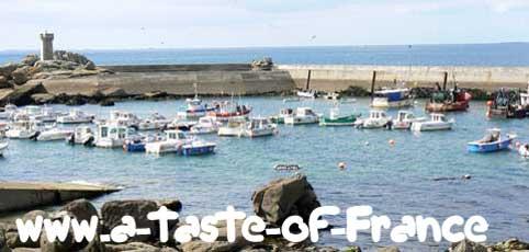 Trevignon harbour Brittany