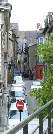 old street in Vitre