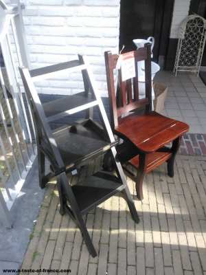 Wassenaar  Holland antique chairs