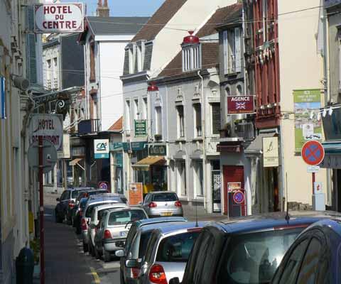Wimereux town centre