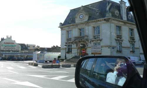 Wimereux crossroad picture