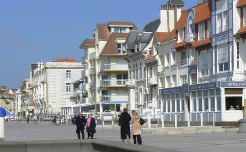 Wimereux sea front