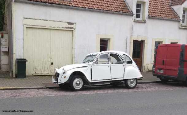 citroen 2cv car Wimille France picture