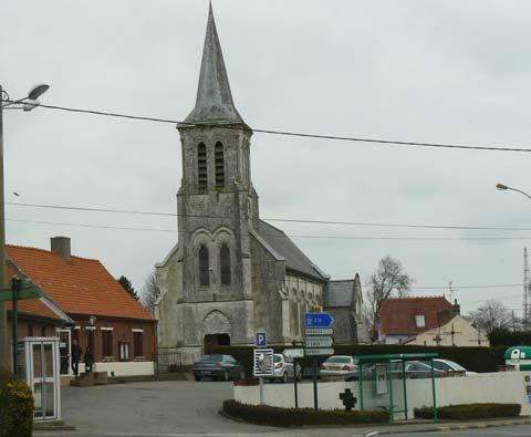 Zouafques church