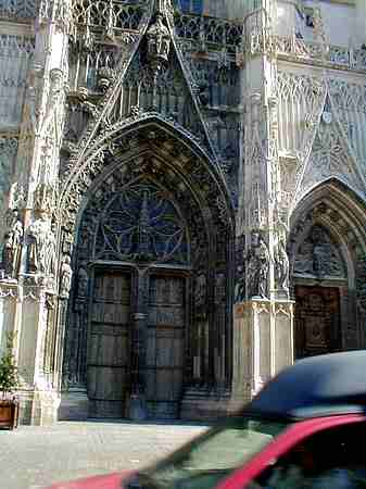 Abbeville church Eglise St- vulfran picture