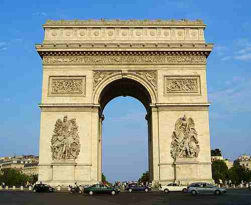 the Arc deTriumph  picture