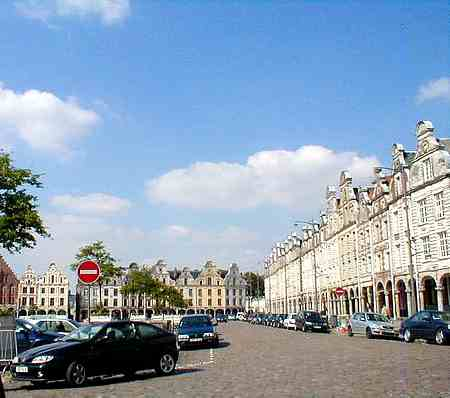 Arras France main square 1 picture