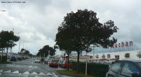 auchan supermarket near Boulogne sur mer picture
