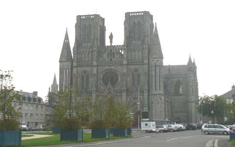 Avranches shurch Manche  Normandy